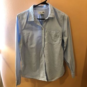 Classic Baby Blue Button Down